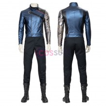 The Falcon and the Winter Soldier Costumes Winter Soldier Bucky Barnes Cosplay Outfit