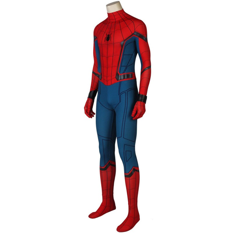 Spider Man Suits Homecoming Peter Parker Cosplay Costume Cossuits