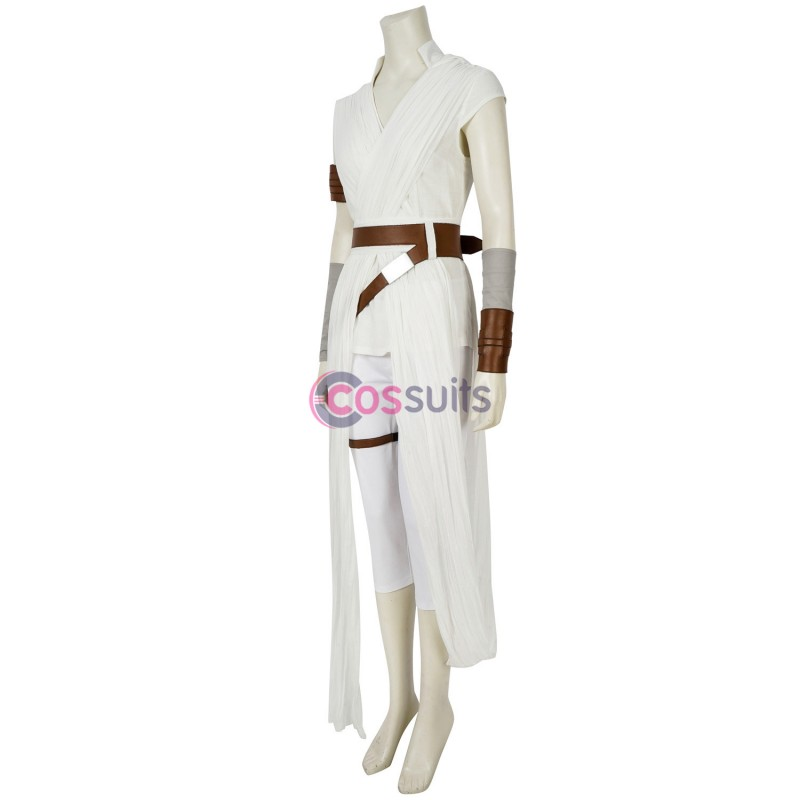 Rey Cosplay Costume Star Wars The Rise Of Skywalker Suit Cossuits