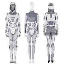 Ghost John Morley Costume Ant-Man 2 Cosplay Suit
