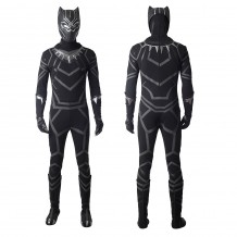 Black Panther Costume Avengers: Infinity War T'Challa Cosplay Suit