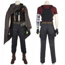 Deadpool 2 Nathan Summers Cable Cosplay Costume Suit