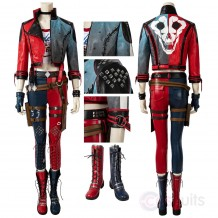 Harley Quinn Costume Suicide Squad: Kill The Justice League Cosplay Suit