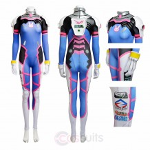 Overwatch D.Va Hana Song Cosplay Costume