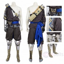 Overwatch Shimada Hanzo Cosplay Costume