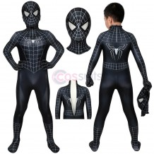 Spider-man Kids Costume Spiderman 3 Eddie Brock Venom Cosplay Suits