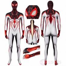 Spiderman PS5 Track Suit Miles Morales Cosplay Costume