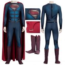 Superman Cosplay Costume Man of Steel Clark Kent Suits