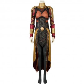 Avengers: Endgame Black Panther Avengers 3: Infinity War Okoye Cosplay Costume with Boots