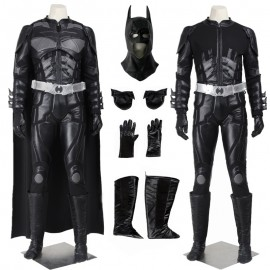 Batman The Dark Knight Rises Black Batman Cosplay Costume