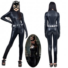 Batman The Dark Knight Rises Selina Kyle Catwoman Cosplay Costume