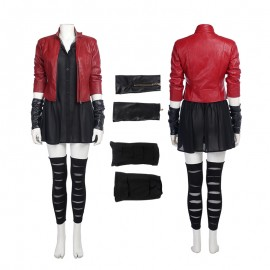 The Avengers Age of Ultron Wanda Maximoff Scarlet Witch Cosplay Costume