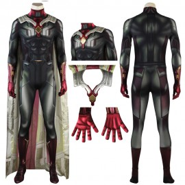 Avengers 3: Infinity War Jumpsuit Edwin Jarvis Cosplay Costume