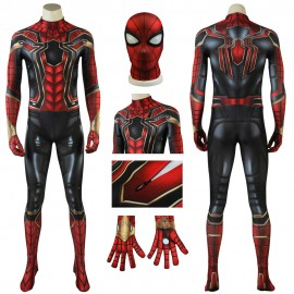 Avengers: Endgame Avengers:Infinity War Peter Parker Iron Spider-Man Cosplay Costume Jumpsuit