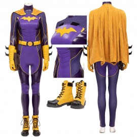 Batgirl Costume Batman: Gotham Knights Batgirl Barbara Gordon Cosplay Suit