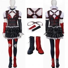 Batman Arkham Knight Harley Quinn Cosplay Costume