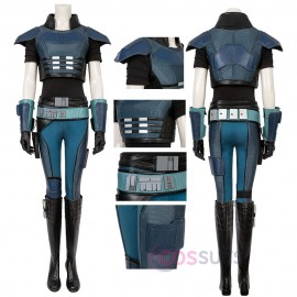 Cara Dune Cosplay Costumes Star Wars The Mandalorian Cosplay Suit