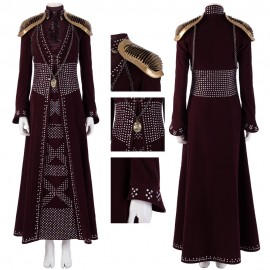 Cersei Lannister Queen of the Seven Kingdoms Cosplay Costume Game of Thrones