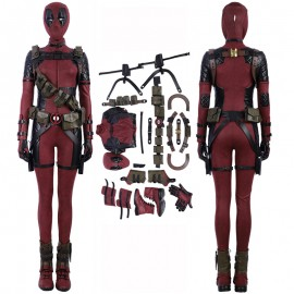 Lady Deadpool Costume Deadpool Female Cosplay Suits