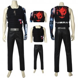 Johnny Silverhand Cosplay Costume Cyberpunk 2077 Cosplay Suit
