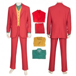 2019 The Joker Origin Cosplay Costume Arthur Fleck Cosplay Suit
