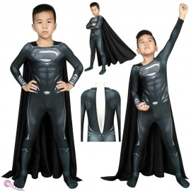 Justice League Superman Cosplay Costume Superman Clark Kent Suit