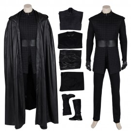Kylo Ren Cosplay Costume Star Wars The Rise Of Skywalker Cosplay Suit