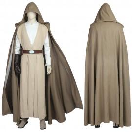 Luke Skywalker Cosplay Costume Star Wars 8 The Last Jedi Cosplay Suit