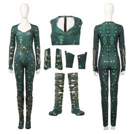 Mera Cosplay Costume 2018 Aquaman Movie Cosplay Suit