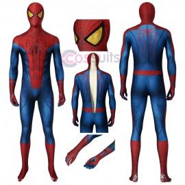 New The Amazing Spiderman Jumpsuit Spiderman Cosplay Costume