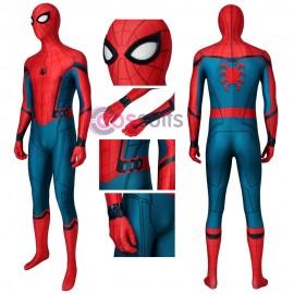Spider-Man Civil War Costume Spider-Man Homecoming Jumpsuit