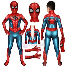 Spider-man Costumes for Kids Spiderman PS4 Spider Armour MK IV Jumpsuit