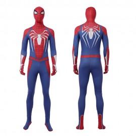 Marvel Spider-man PS4 Costume Cosplay Jumpsuit For Men