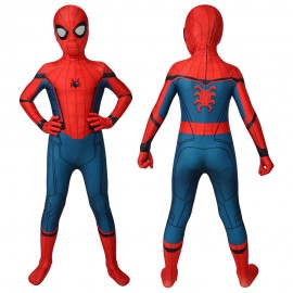 Spider-man Homecoming Spiderman Cosplay Jumpsuit For Kids