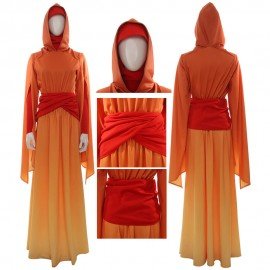 Star Wars Costume Queen Padme Amidala Cosplay Dress