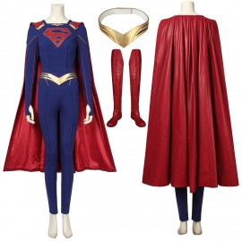 Supergirl Kara Zor-El Cosplay Costume Supergirl Season 5 Cosplay Suit