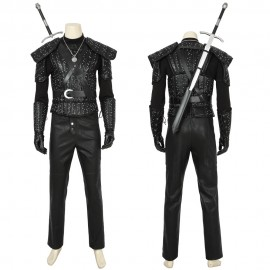 The Witcher Geralt Cosplay Costume The Witcher TV Cosplay Outfit