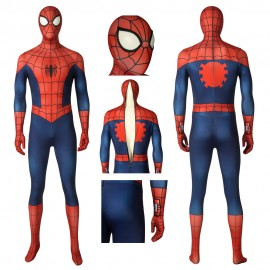 Ultimate Spider-Man Season 1 Peter Parker Cosplay Costume