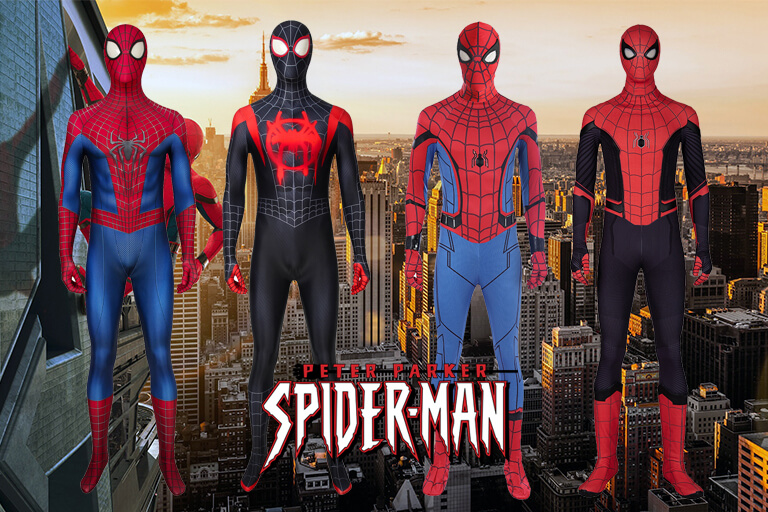 spider-man cosplay costumes banner