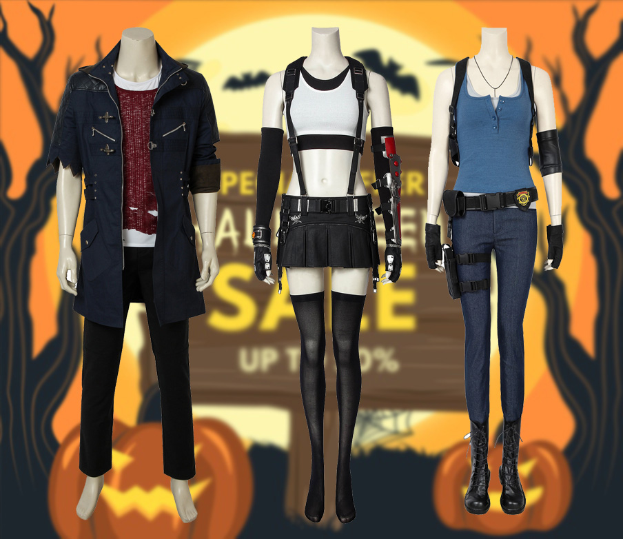 games cosplay costumes